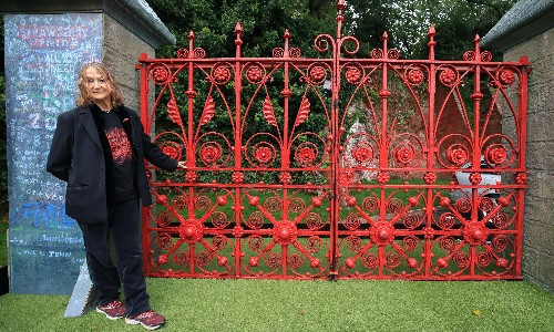 The Beatles' Strawberry Fields opens forever