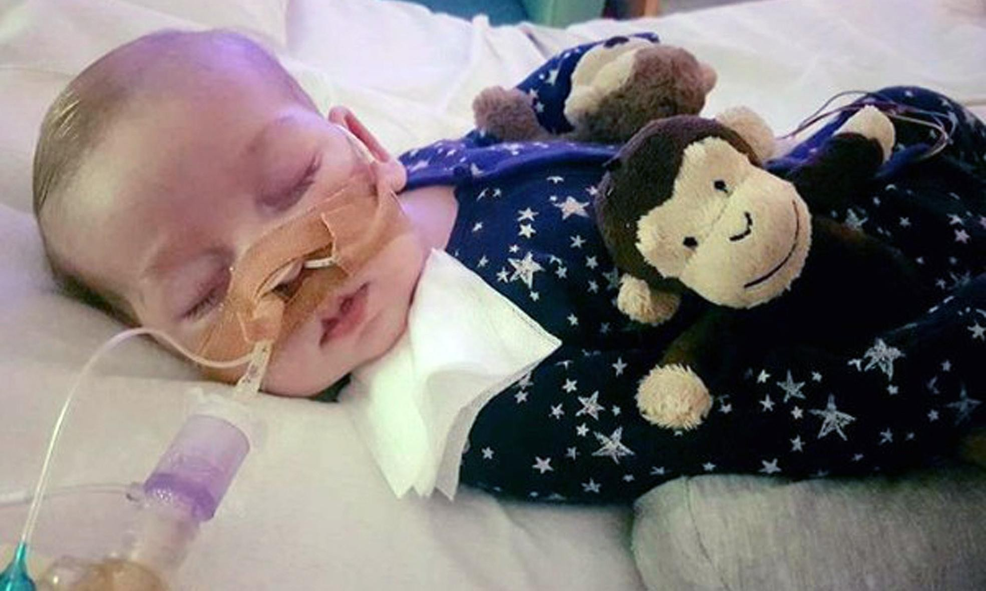 Charlie Gard's parents say their 'beautiful boy' has died