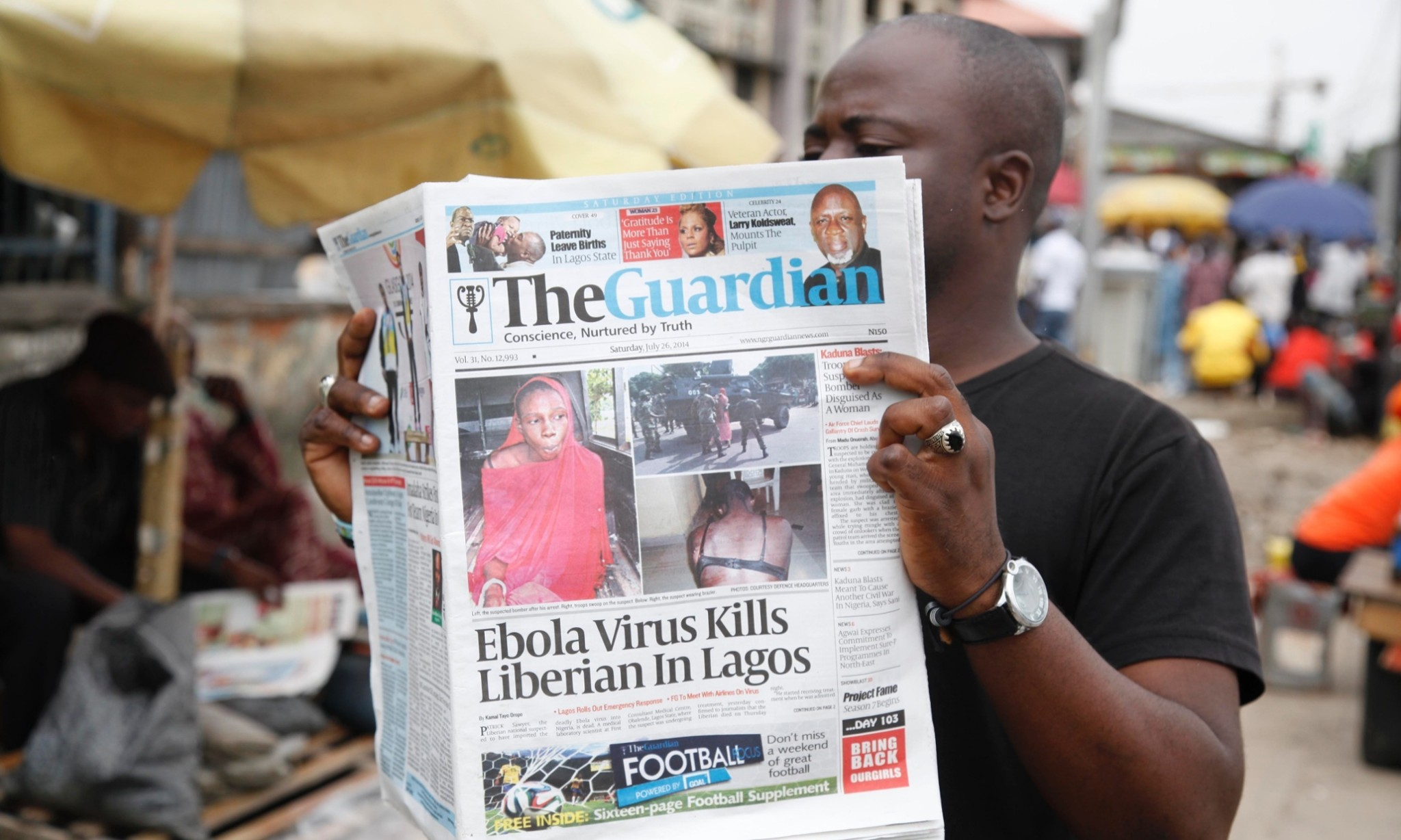 Ebola crisis: US doctor working in Liberia tests positive