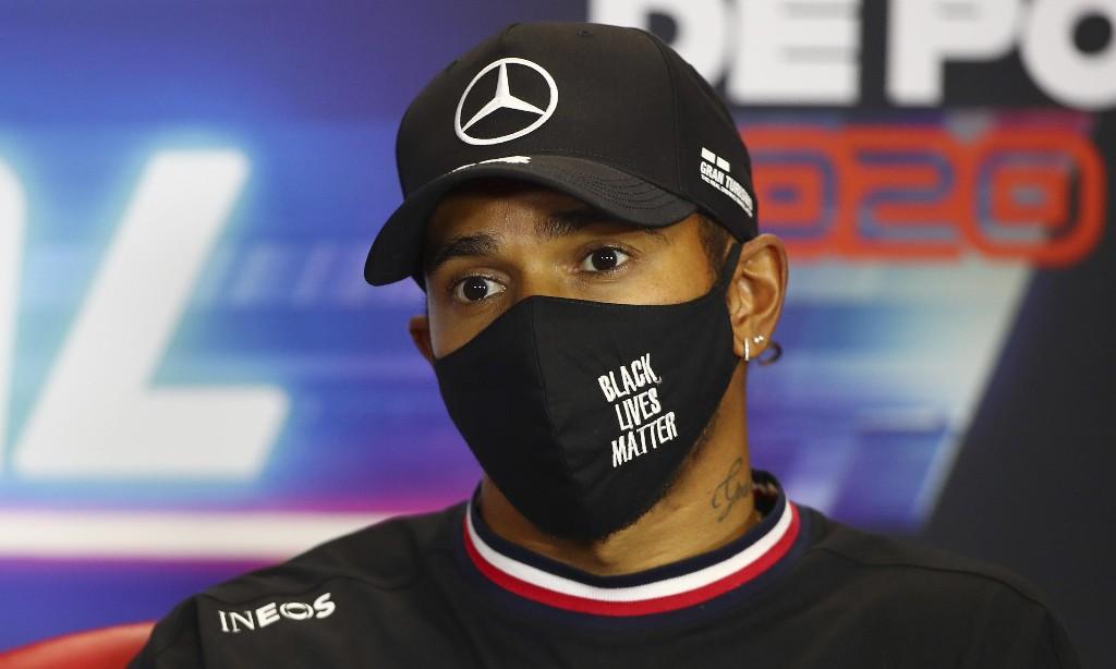Hamilton unhappy at Black Lives Matter critic Petrov's Portuguese F1 GP role