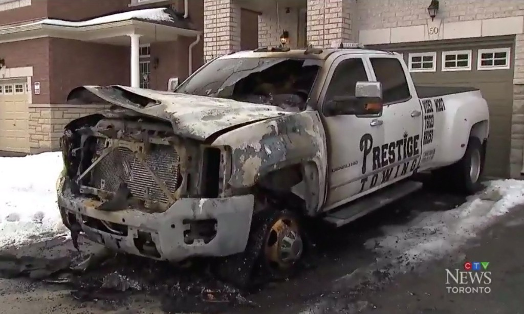 Tow truck turf wars: Toronto sees rise in violence likened to organised crime