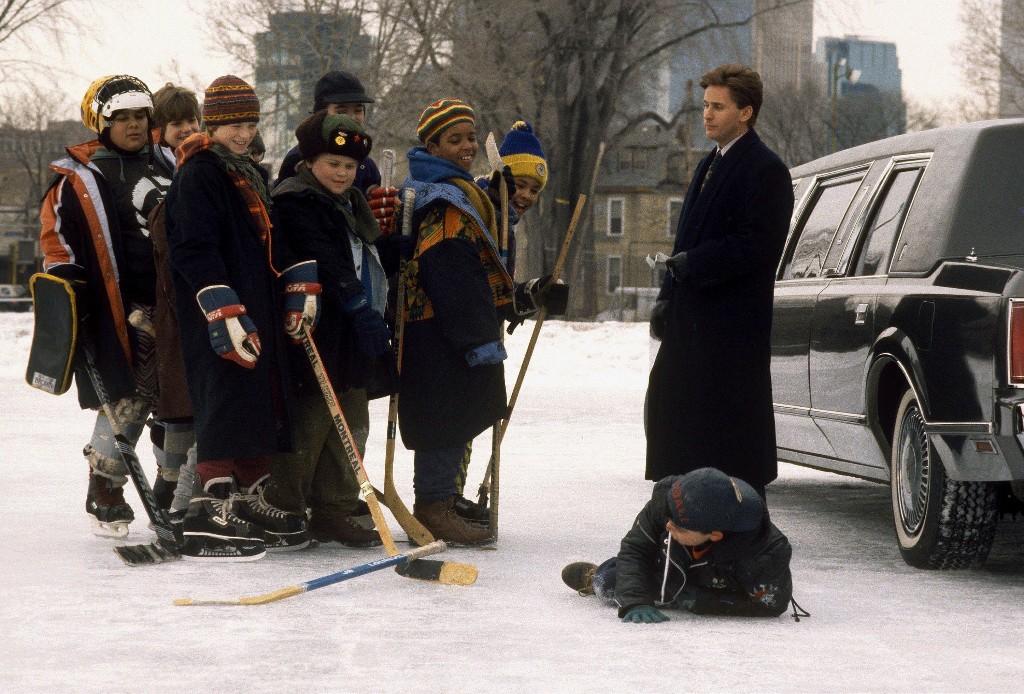 The Mighty Ducks: hardscrabble junior ice hockey team's underdog story a cosy classic