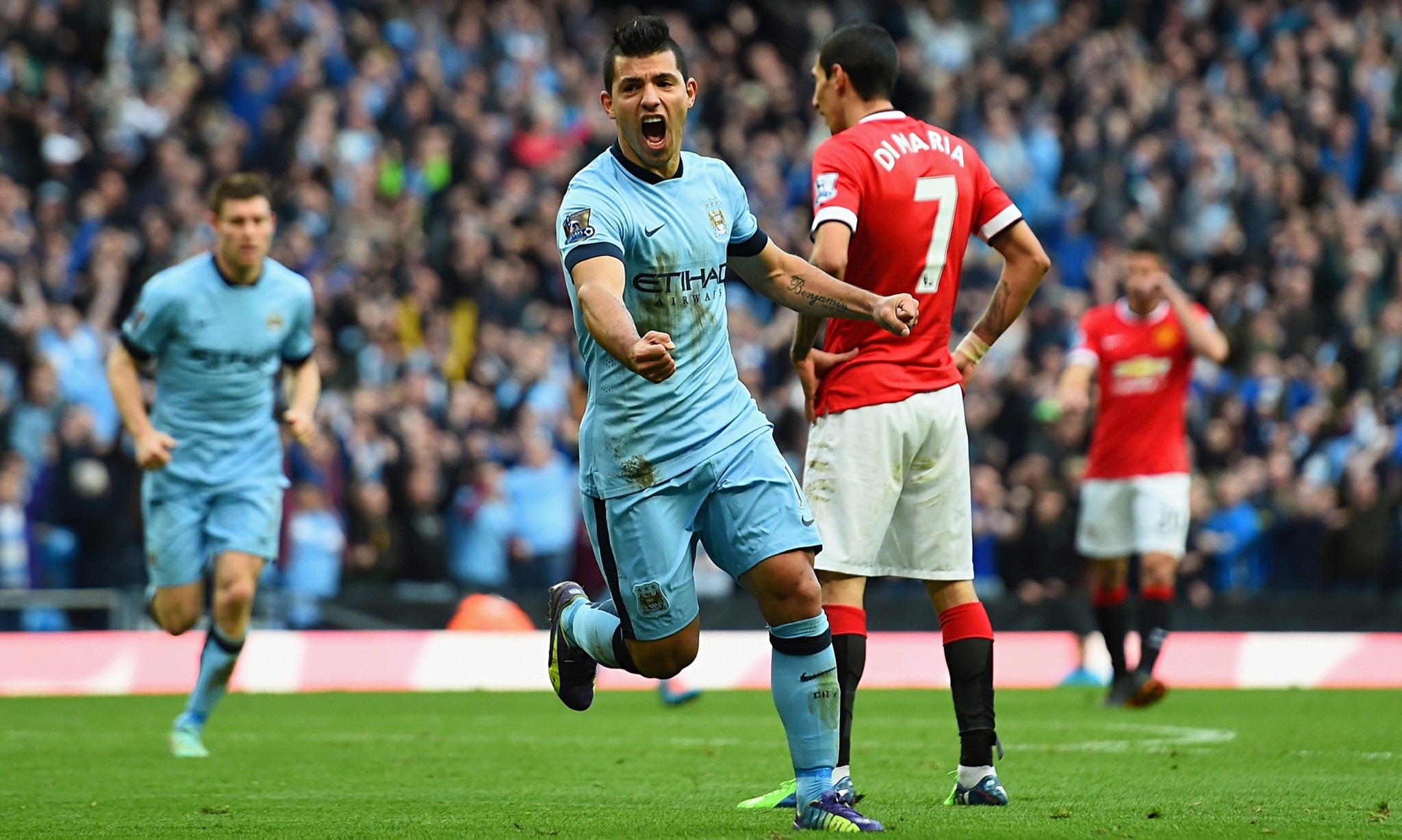 Manchester City 1-0 Manchester United