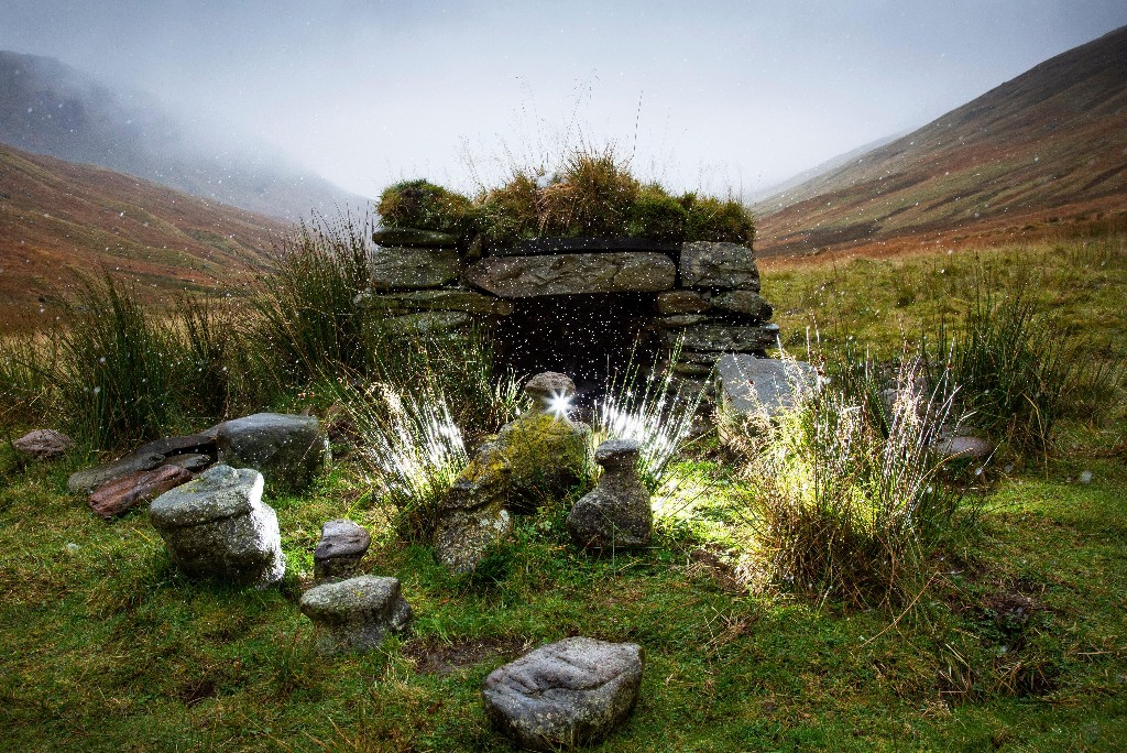 'There is power in them': mysterious stone figures to be moved in Gaelic winter ritual