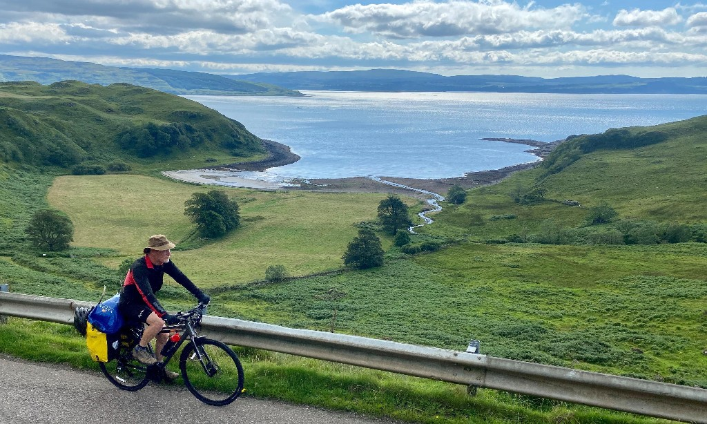 Miles and isles: our big Scottish bike ride