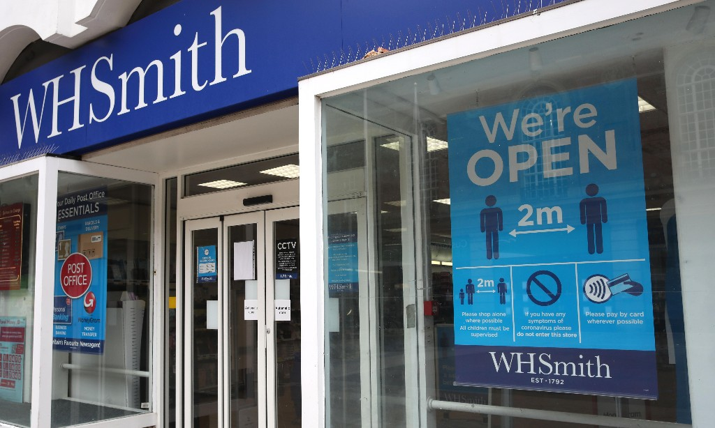 WH Smith and M&Co to cut 1,900 jobs as Covid-19 hits sales