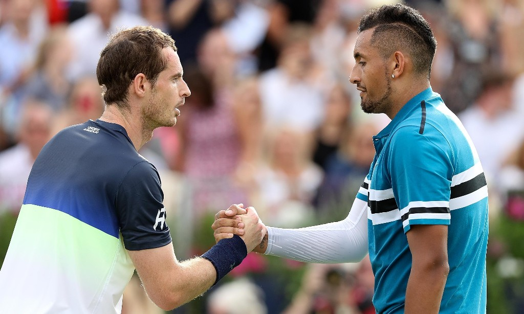 Nick Kyrgios: 'I wasn't as scared of Rafa and Roger as I was Andy Murray'