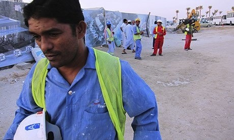 Conditions for Abu Dhabi's migrant workers 'shame the west'