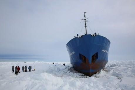 Rescue from Antarctica