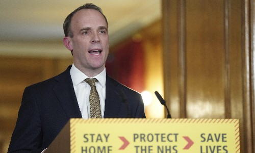 With Raab at the reins, things are really getting finger-lickin' bad