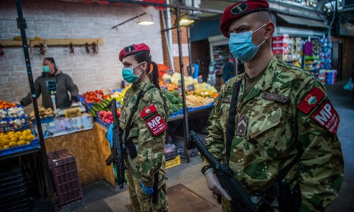 Teargas, beatings and bleach: the most extreme Covid-19 lockdown controls around the world