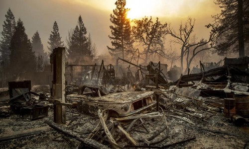 'The only uncertainty is how long we'll last': a worst case scenario for the climate in 2050