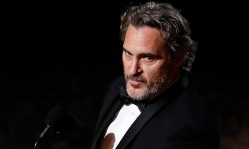 Joaquin Phoenix's Oscars speech in full: 'We feel entitled to artificially inseminate a cow and steal her baby'