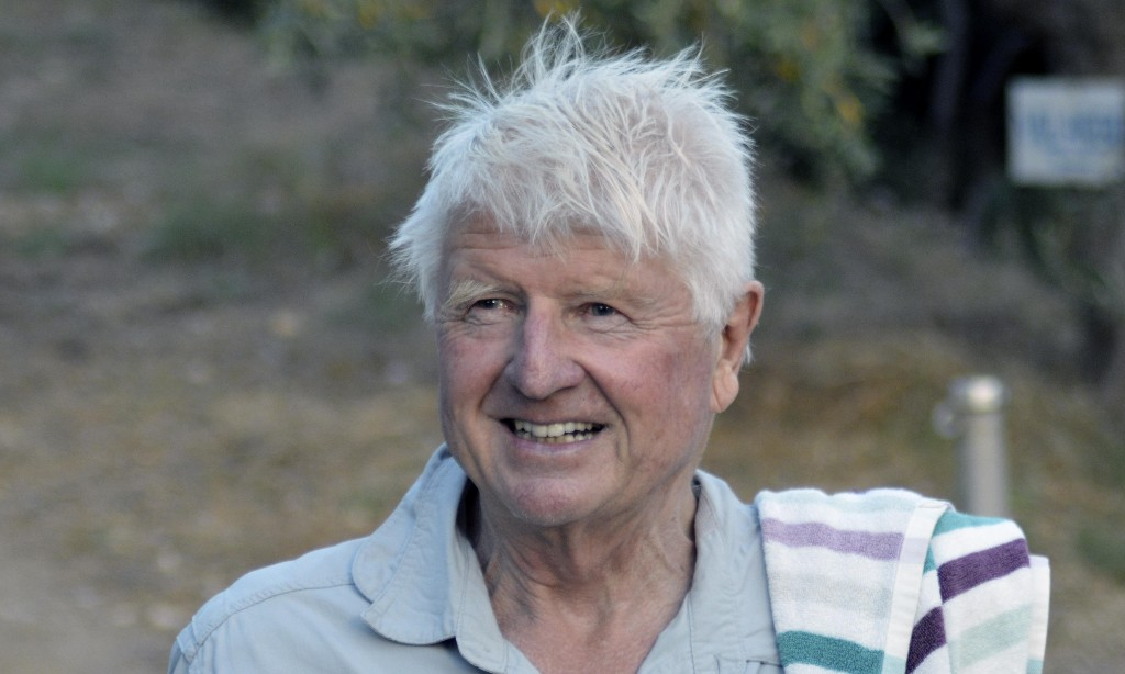 Stanley Johnson says Greece visit is essential to 'Covid-proof' villa