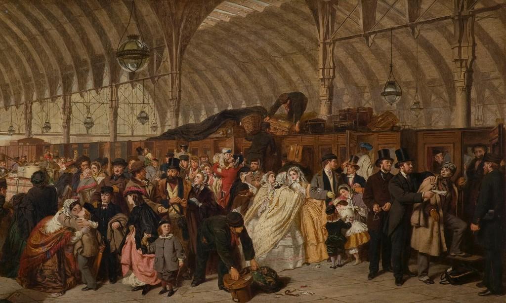 Name that railway station! The great British art quiz