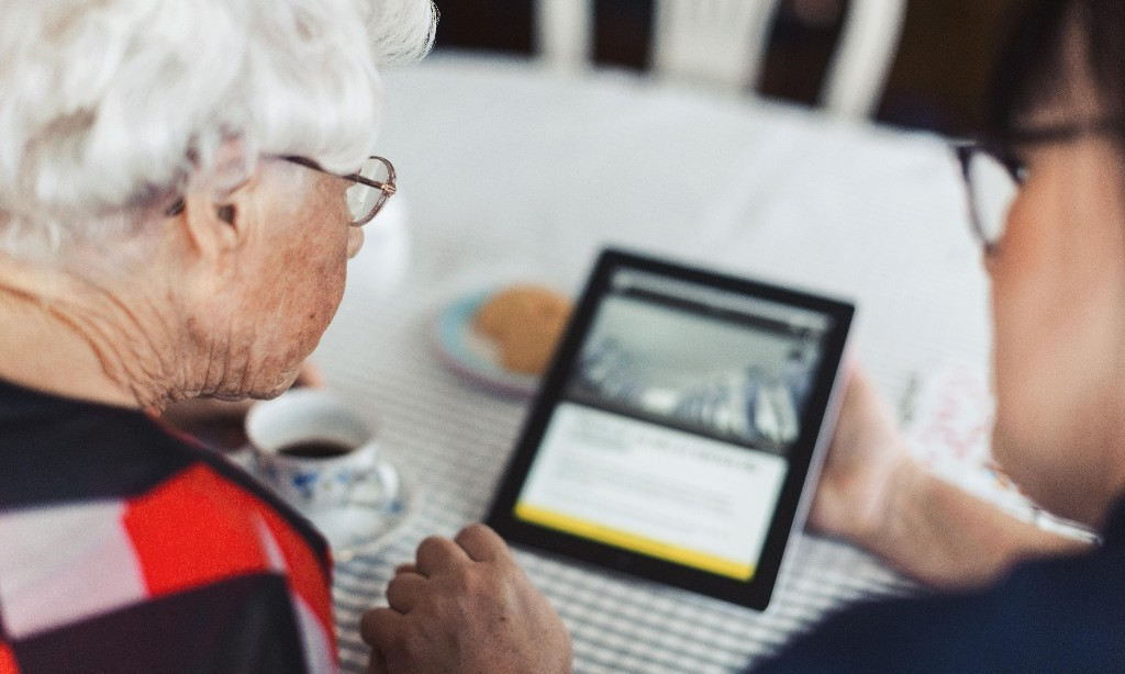 What's the best tablet for video calling grandma?