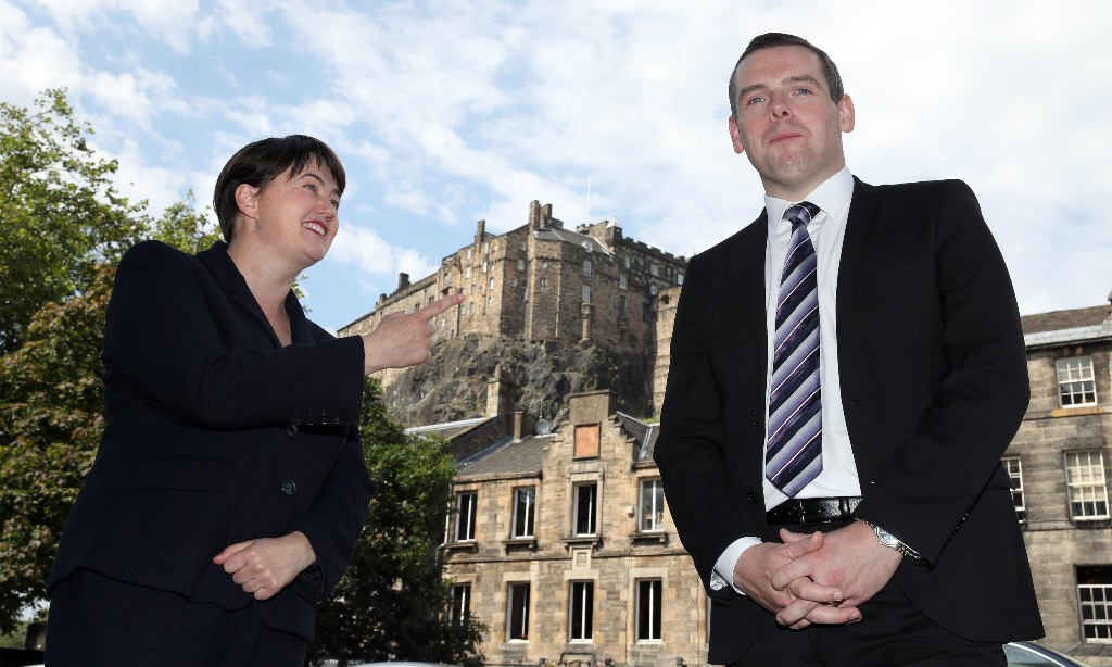 Scottish Conservatives appoint Ruth Davidson as Holyrood leader