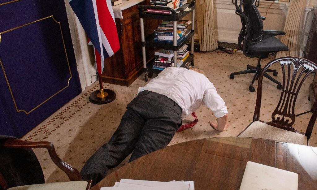 Virility test: Boris's press-up charm offensive falls flat