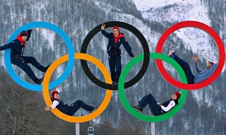 The Olympic Truth - Magazine cover