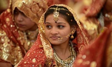 Child Marriage - Magazine cover