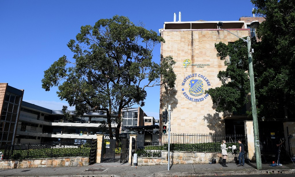 Two schools in Sydney's east closed after students test positive for Covid-19