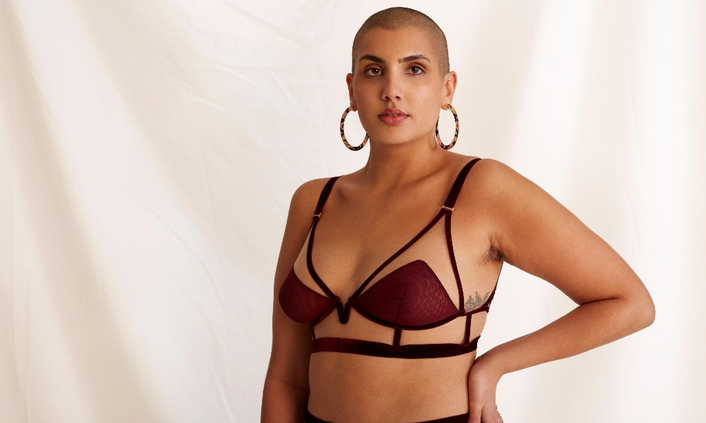 'You are more than a body': the lingerie brand that picks models without seeing them