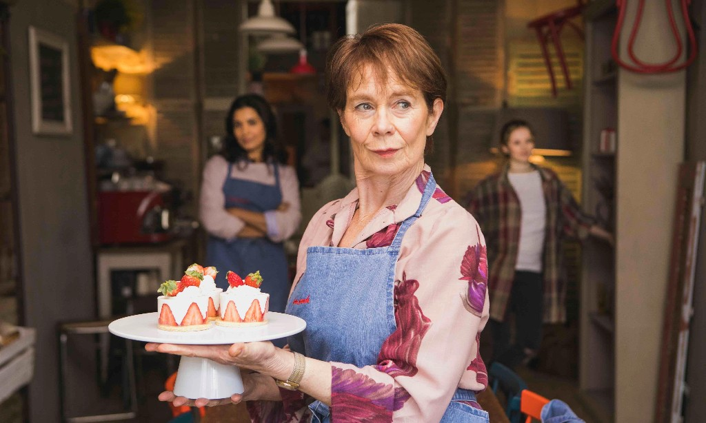 Love Sarah review – Celia Imrie stars in warm-hearted Notting Hill drama