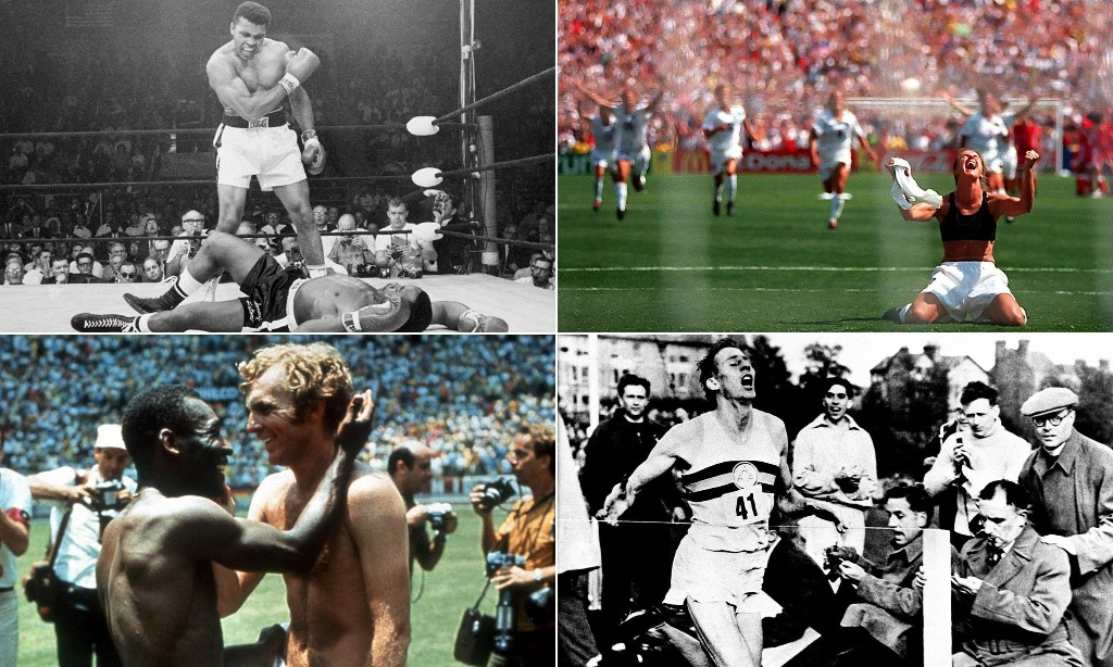 Sports quiz: what are the stories behind these iconic photos?