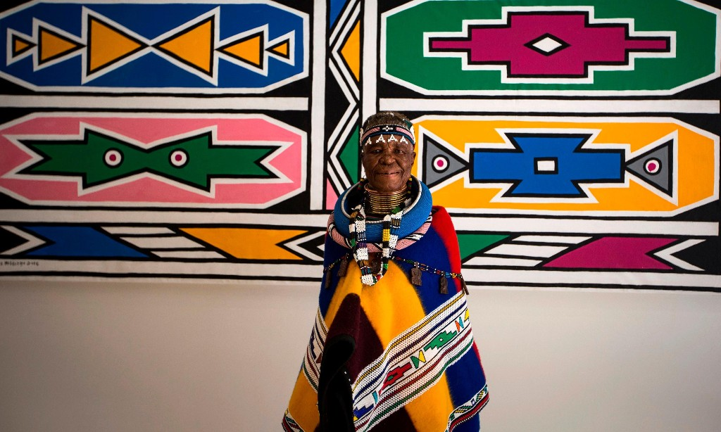 Renowned artist Esther Mahlangu urges Africans to hold on to their traditions