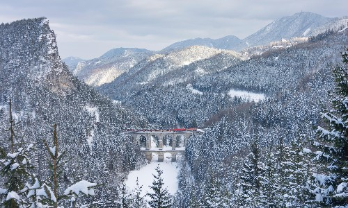 Snow patrol: 10 great winter train journeys in Europe