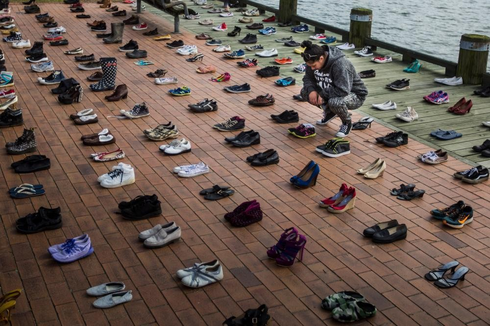 606 pairs of empty shoes: the growing toll of suicide in New Zealand