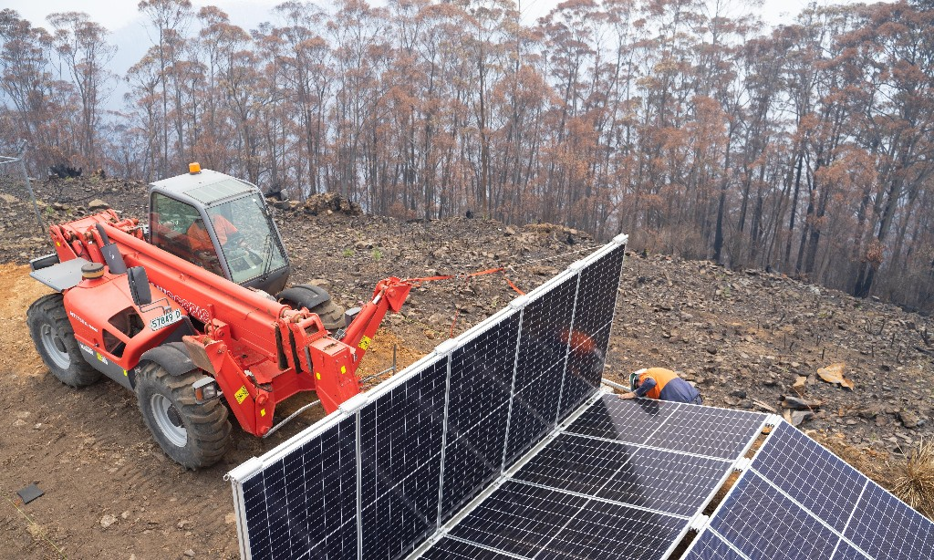Mike and Annie Cannon-Brookes pledge $12m to supply solar systems for disaster relief