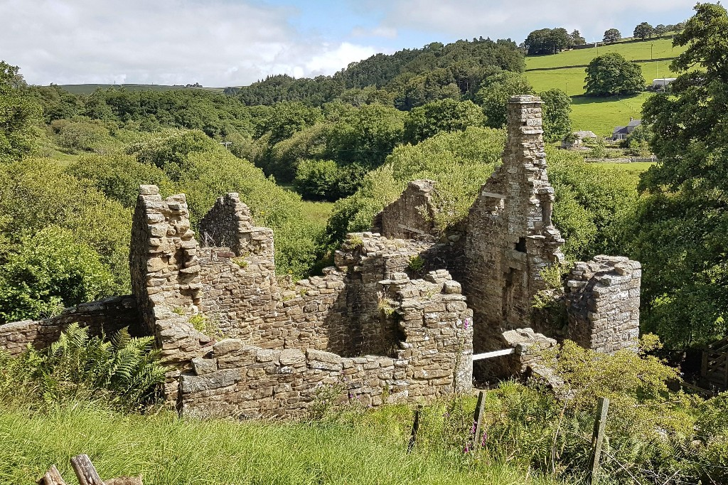Country diary: wildlife has invaded this fortified house