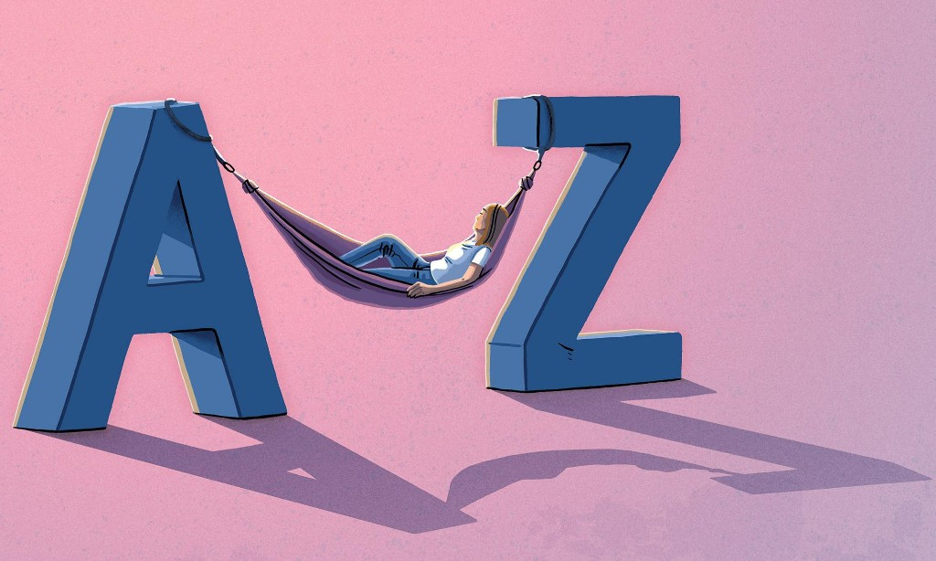 An A to Z of old words to calm and inspire hope