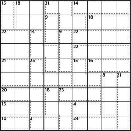 Killer sudoku 722