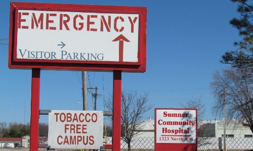 What happens when a city's hospital closes 'without warning' during a pandemic