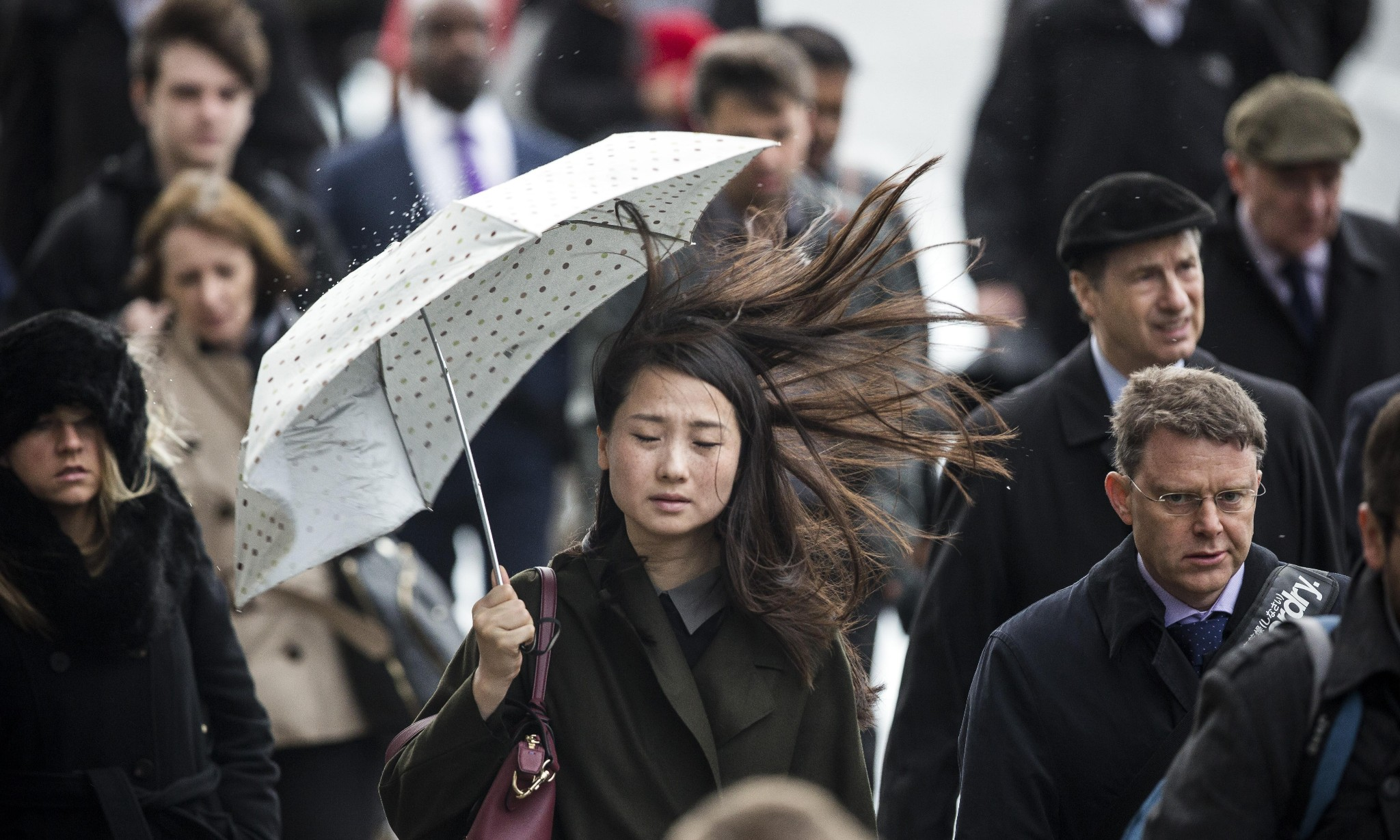 Heavy rain and 70mph winds to batter Britain
