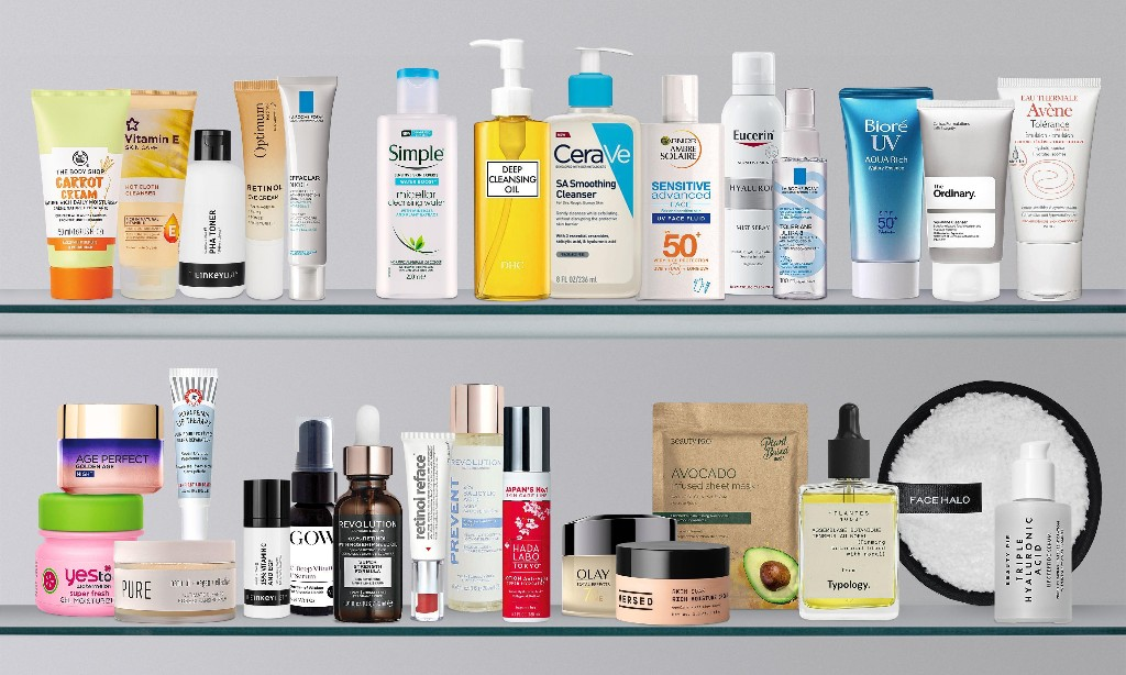 The 30 best facial skincare products for under £20