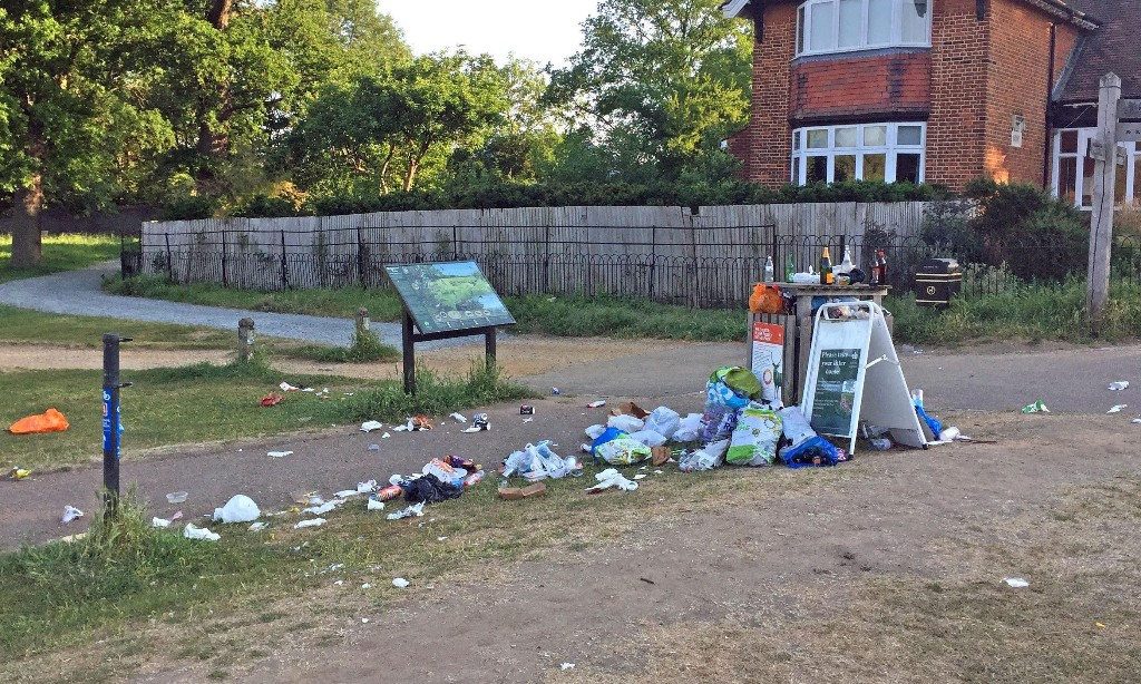 'The worst of human nature': UK staycationers' trail of destruction