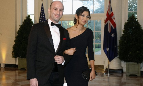 Stephen Miller's New York Times wedding announcement sparks backlash