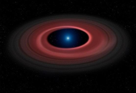 僵尸恒星光环,预示太阳系最终结局| 果壳 科技有意思
