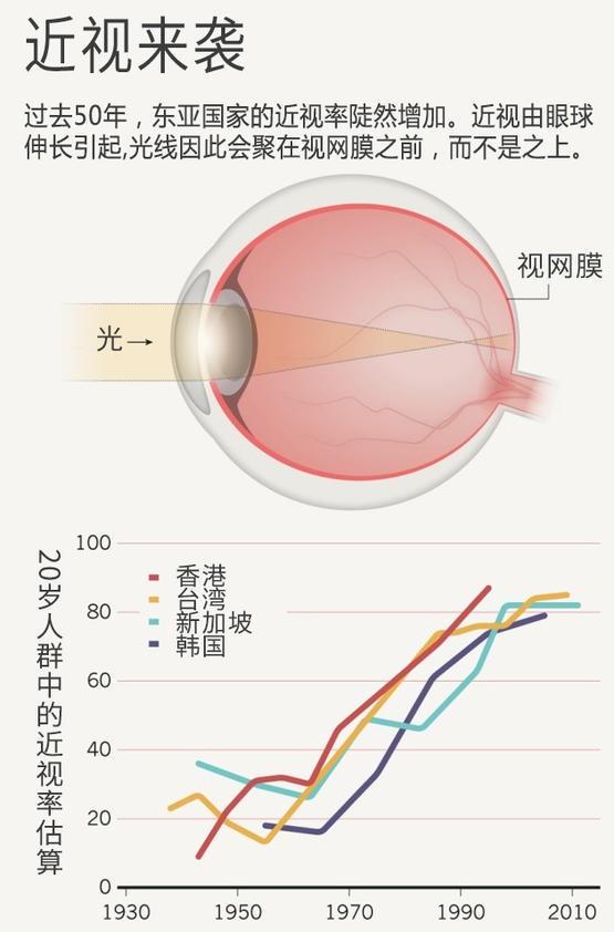 为什么近视的人越来越多了?  果壳 科技有意思