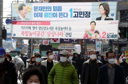 [2020총선] '참신' 고민정, '연륜' 오세훈…'민주당 아성' 광진을의 선택은?