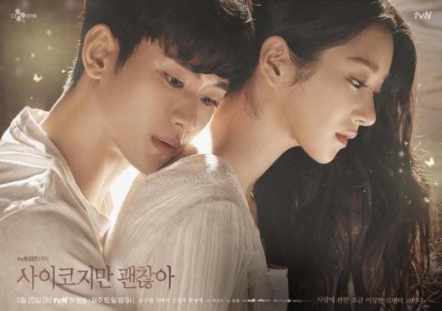 김수현·서예지 '사이코지만 괜찮아', 뉴욕타임스 인터내셔널 TV쇼 TOP10 | 텐아시아