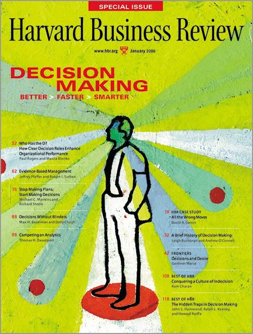 Analytics - Magazine cover