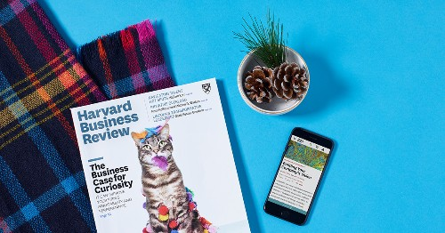 Harvard Business Review | The Management Tip of the Day