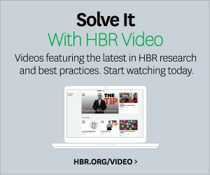 Harvard Business Review | Management Tip of the Day
