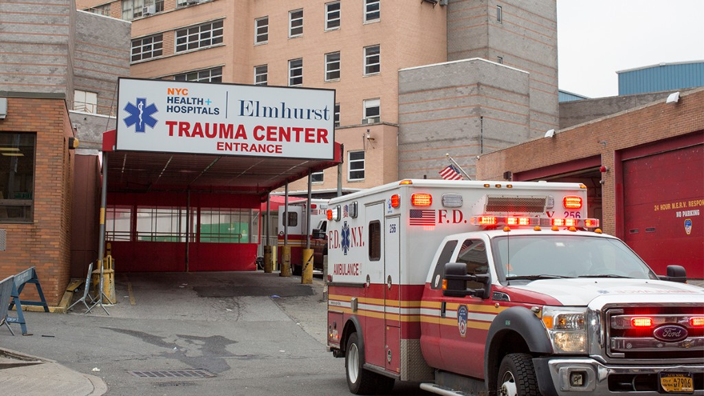On the Front Lines at NYC's Elmhurst Hospital