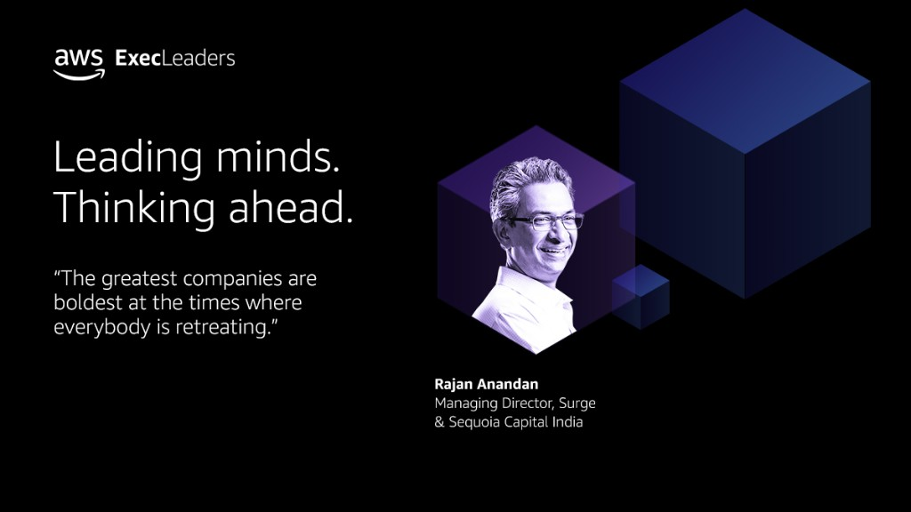 Rajan Anandan Joins AWS ExecLeaders to Discuss the Impact of the Pandemic on the Indian Kirana/SME Sector - SPONSOR CONTENT FROM AWS