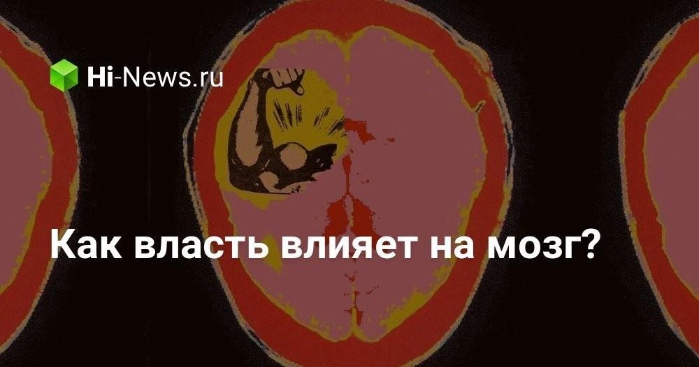 Как власть влияет на мозг? - Hi-News.ru